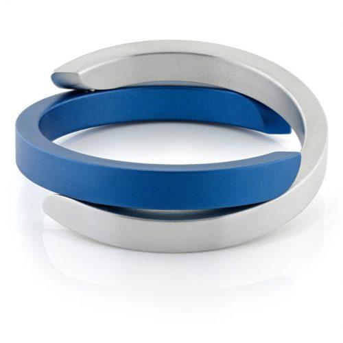 Clic armband A1B mat blauw