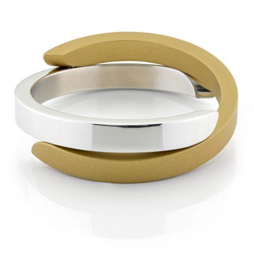 Clic armband A1G glans goud