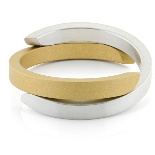 Clic armband A1G mat goud
