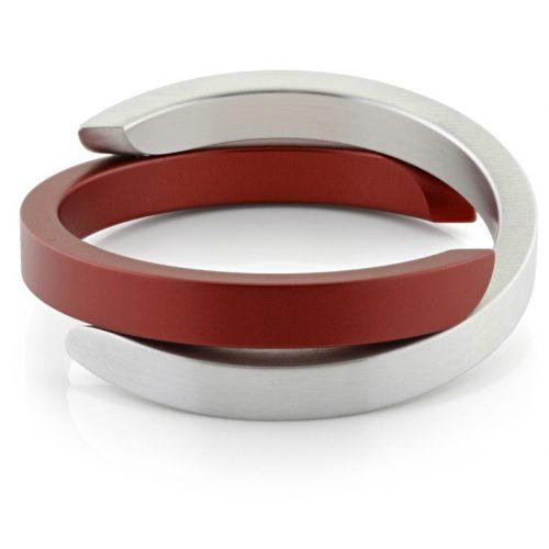 Clic armband A1R mat rood
