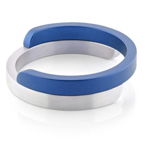 Clic armband A2G mat blauw