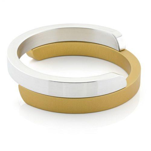 Clic armband A2G glans goud