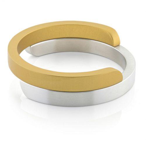 Clic armband A2G mat goud