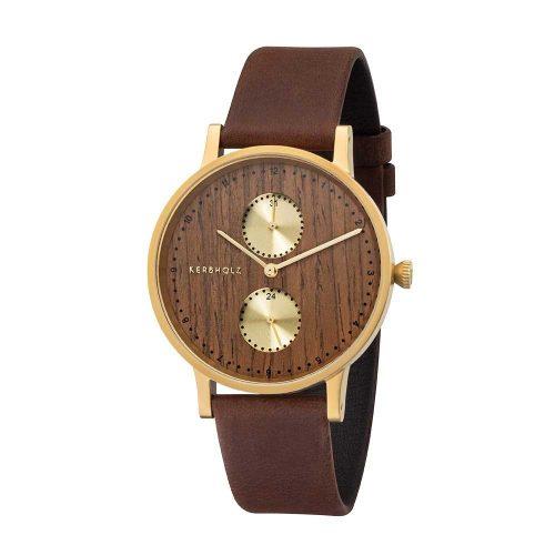 Kerbholz Clara Gold horloge