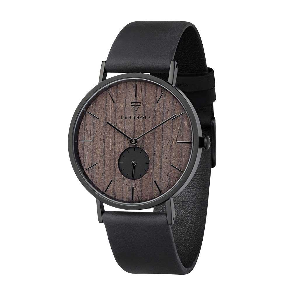 Kerbholz Fritz Walnut horloge