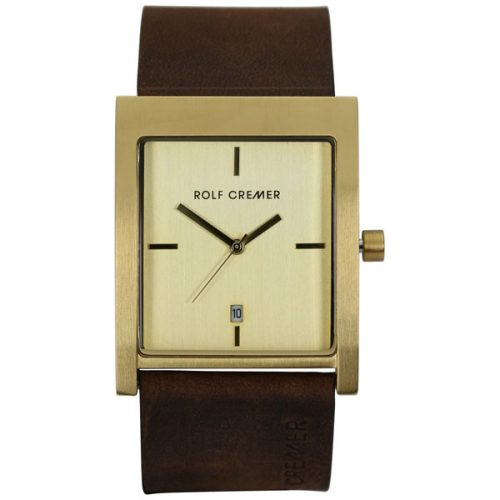 Rolf Cremer Flash horloge bruin