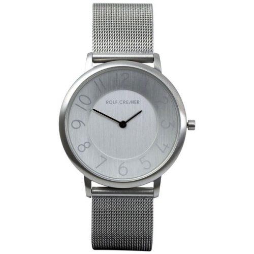 Rolf Cremer Gent horloge zilver met milanese band