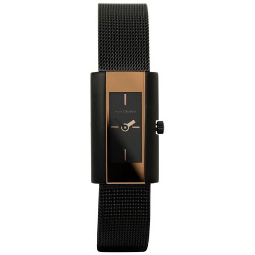 Rolf Cremer Pari 1 horloge zwart