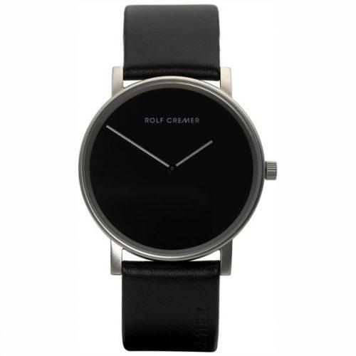 Rolf Cremer Pur horloge zwart