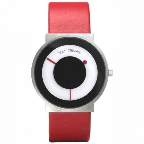 Rolf Cremer Signo horloge rood