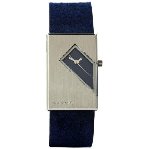 Rolf Cremer Straight R horloge blauw