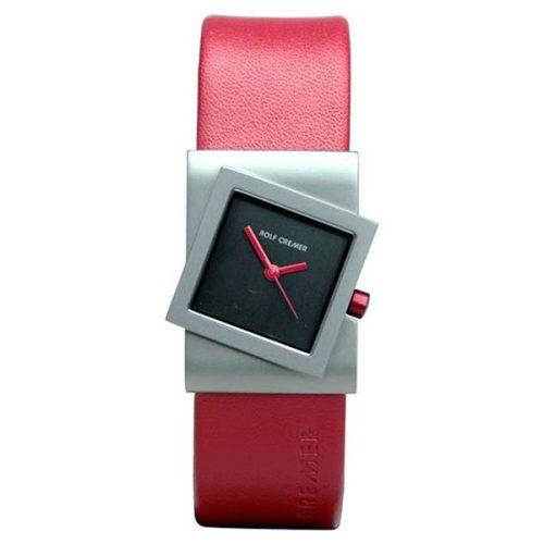 Rolf Cremer Turn horloge rood