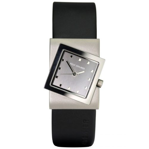 Rolf Cremer Turn horloge zwart