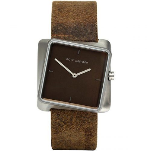 Rolf Cremer Twist horloge bruin