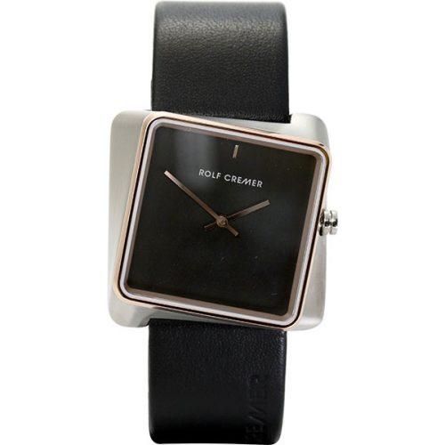 Rolf Cremer Twist horloge zwart