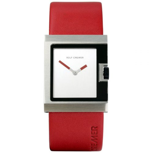 Rolf Cremer U horloge rood