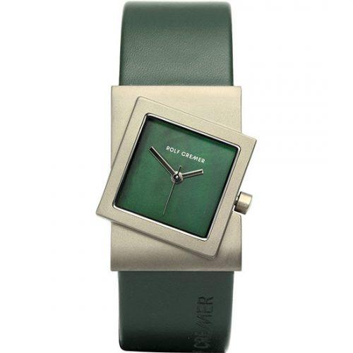 Rolf Cremer Turn horloge groen