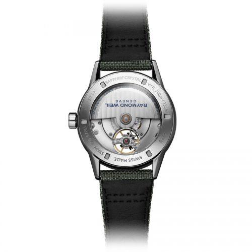 Raymond Weil Freelancer Automatic Green horloge 1