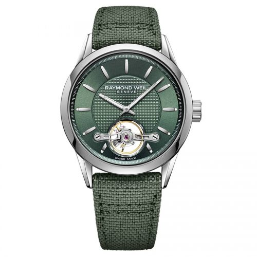 Raymond Weil Freelancer Automatic Green horloge