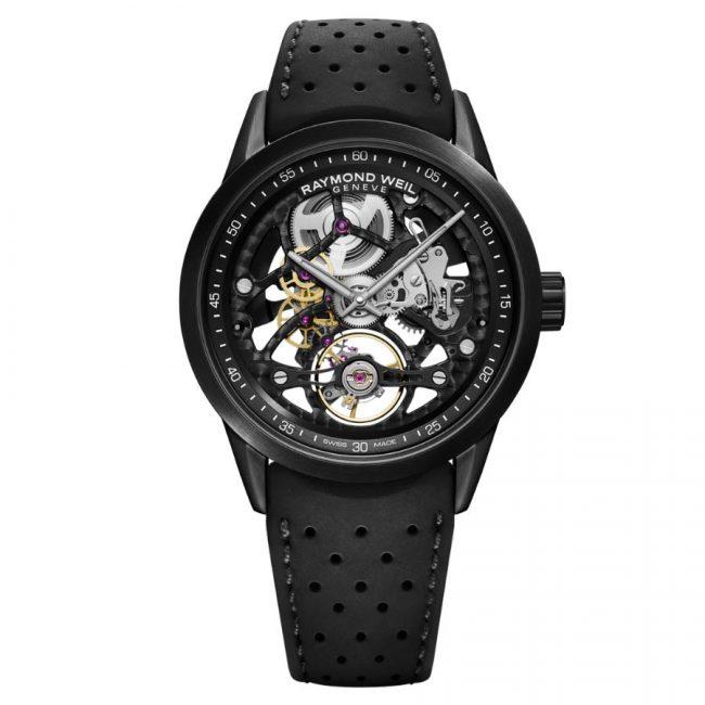 Raymond Weil Freelancer RW1212 Black Skeleton horloge