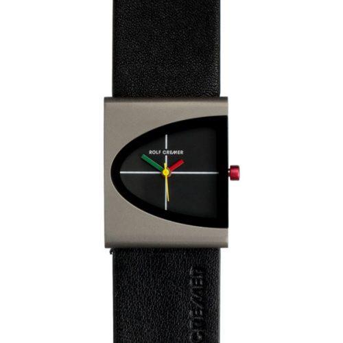Rolf Cremer Arch horloge zwart-titanium 505302