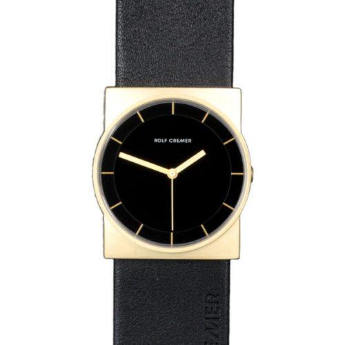 Rolf Cremer Concepta Uhr schwarz und gold 505609