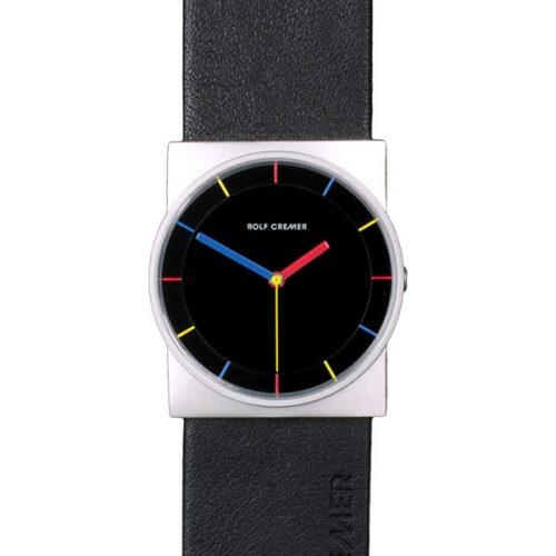 Rolf Cremer Concepta Uhr schwarz-stahl 505606
