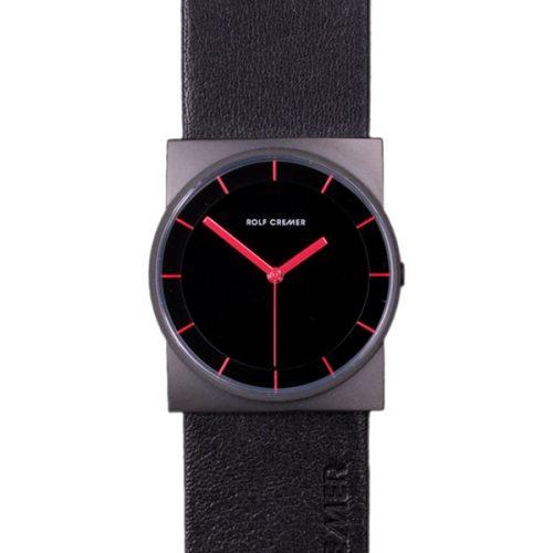 Rolf Cremer Concepta Uhr schwarz-schwarz 505601