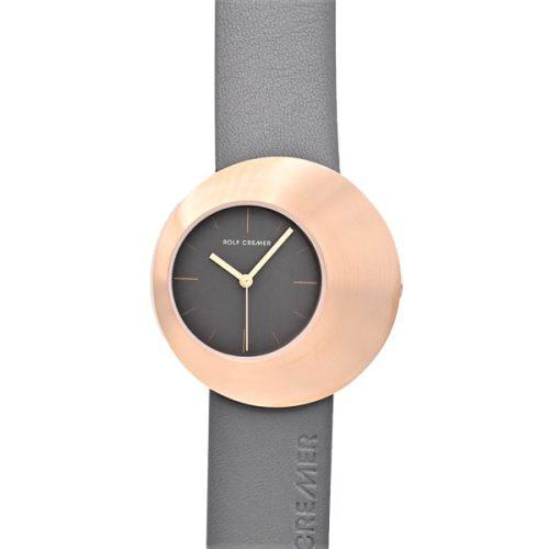 Rolf Cremer Eclips horloge grijs-rose 505902