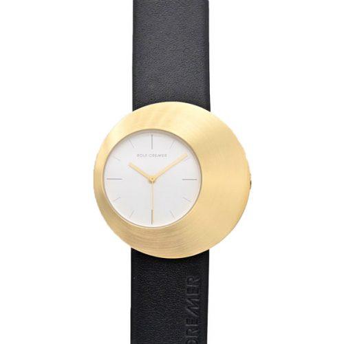 Rolf Cremer Eclips Uhr schwarz gold 505901
