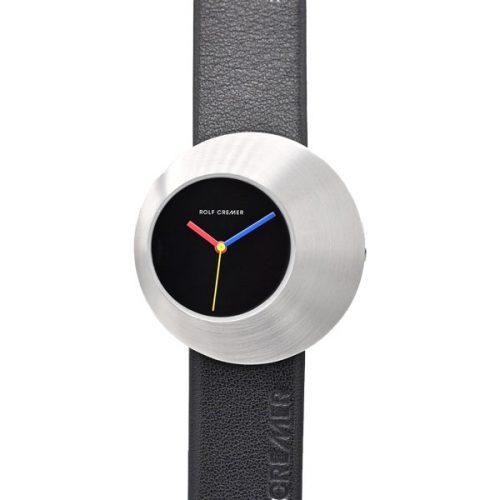 Rolf Cremer Eclips Uhr schwarz Stahl 505907