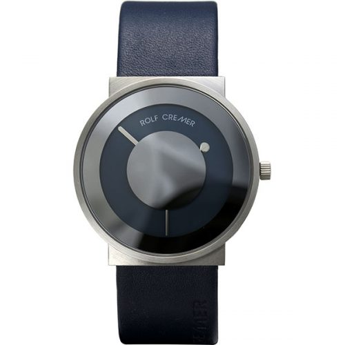 Rolf Cremer Signo horloge blauw-staal 503907