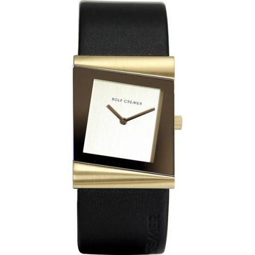 Rolf Cremer Style Uhr schwarz und gold 500012