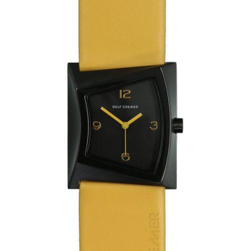 Rolf Cremer ZOOM Uhr gelb 506308