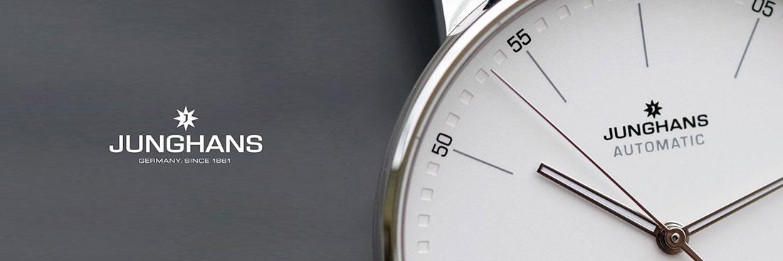 Junghans horloges banner